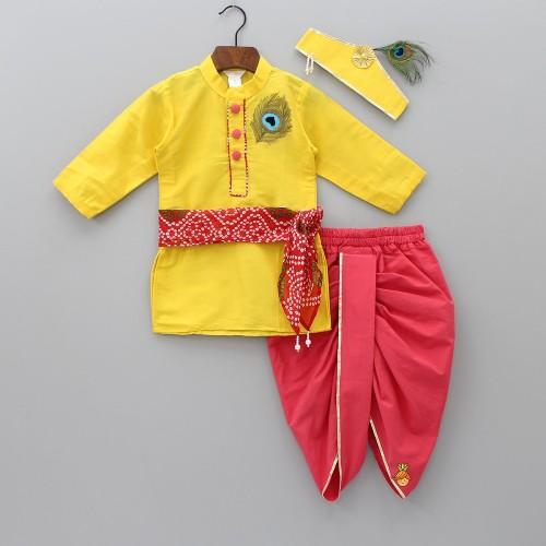 little muffet krishna costume