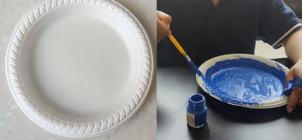 Paper Plate Aquarium Craft