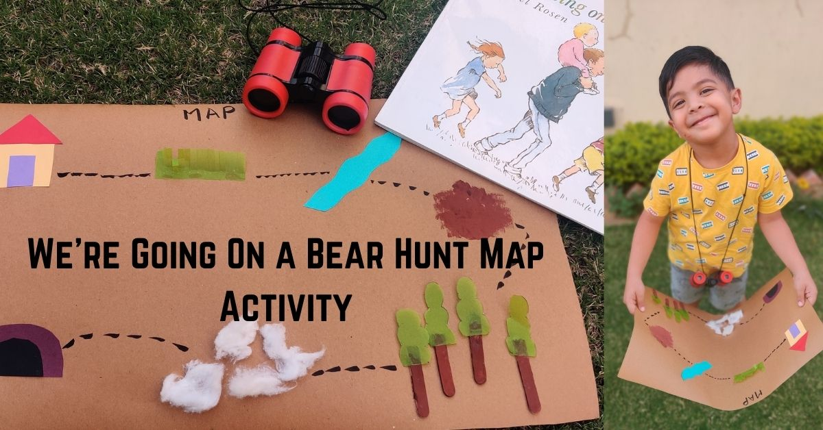 We're going on Bear Hunt Map Activity