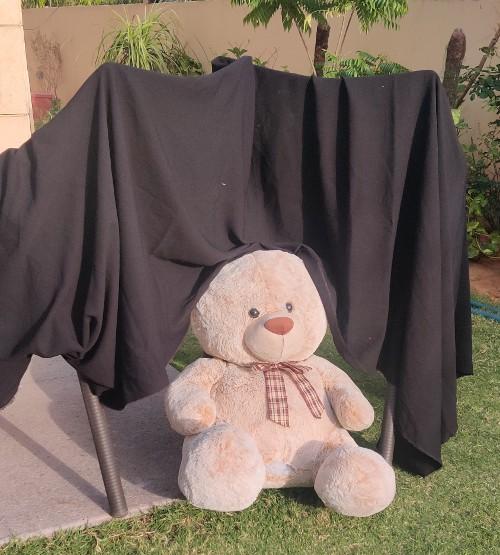cave bear sensory play