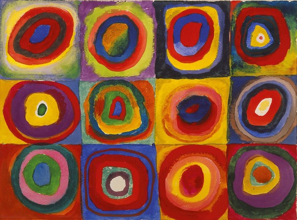 Original Kandinsky Circle Art