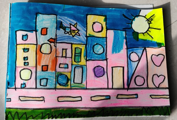 Paul Klee Inspired Shape Painting