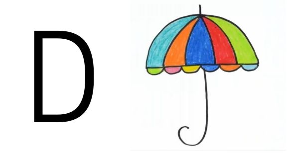 Drawing with Alphabets D