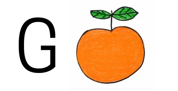 Drawing with Letter G