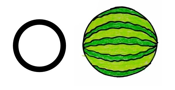 Drawing with Letter O