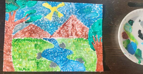 Pointillism Art for Kids