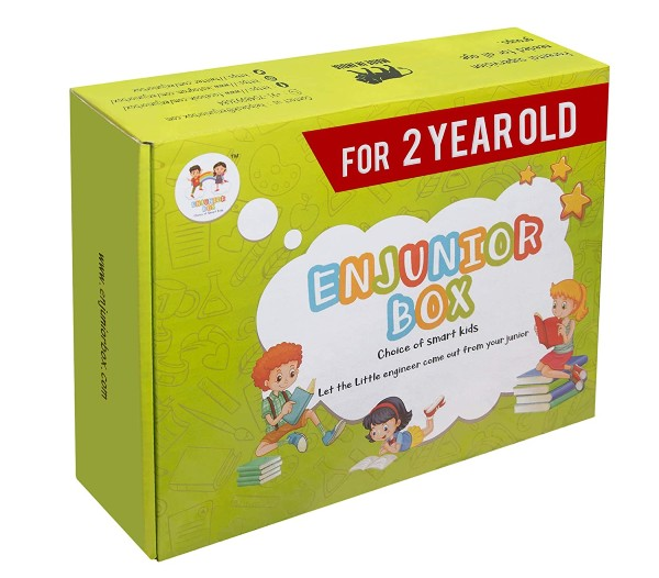 Enjunior Box Educational Toys for 2 year olds