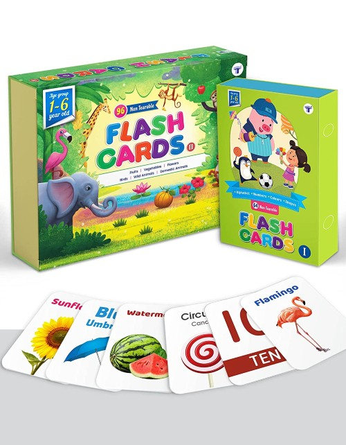 flash cards for 2 year olds educational toys
