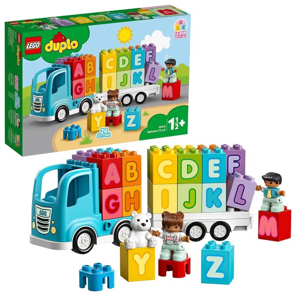 lego duplo alphabet set educational toy for two year olds