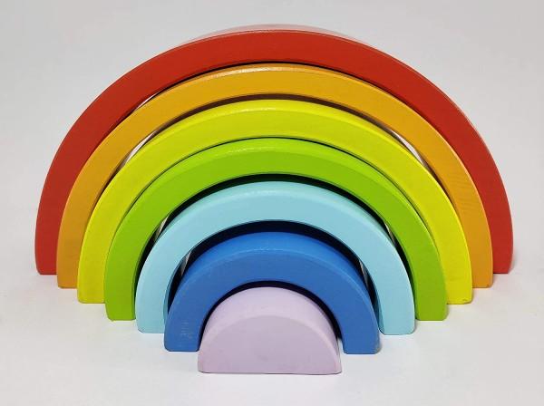 rainbow stacker educational toy