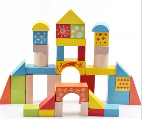 wooden blocks for two year olds