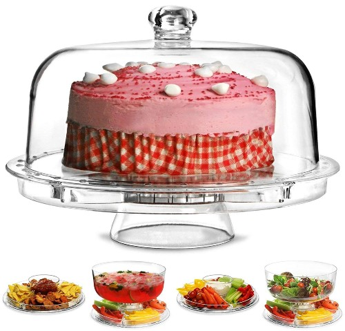 Acrylic Cake Stand with Dome online