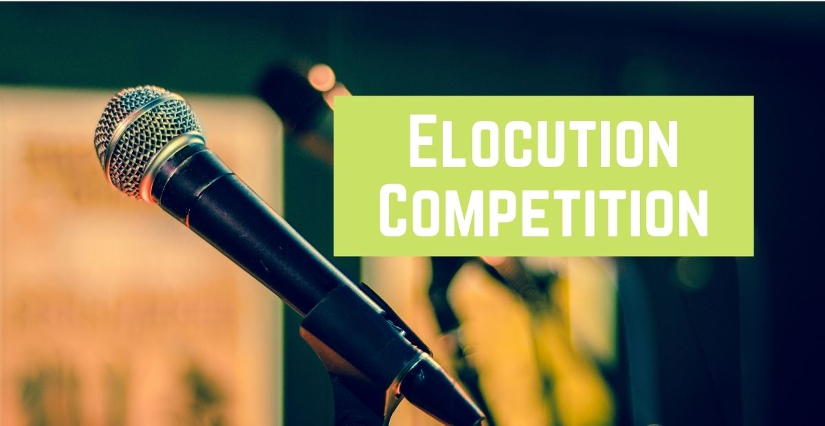 All About Elocution Competition