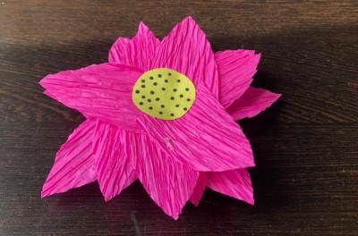 National Symbols of India Lotus Craft paste petals