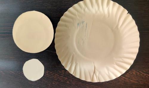 Paper Plate Peacock Craft Idea take plates