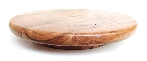 Rotating Wooden Cake Stand Online India