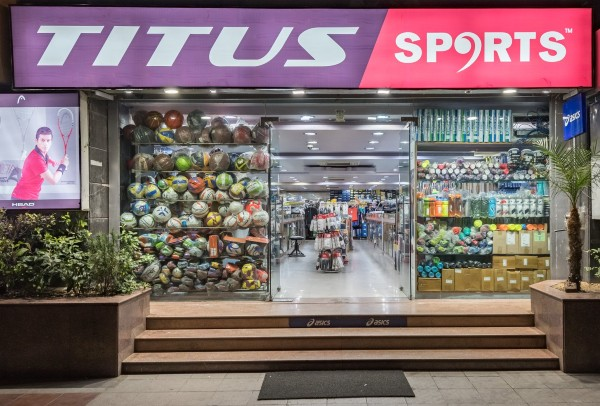 Best Sports Shops in Jaipur Titus sports
