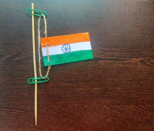 DIY Flag Hoist craft dea