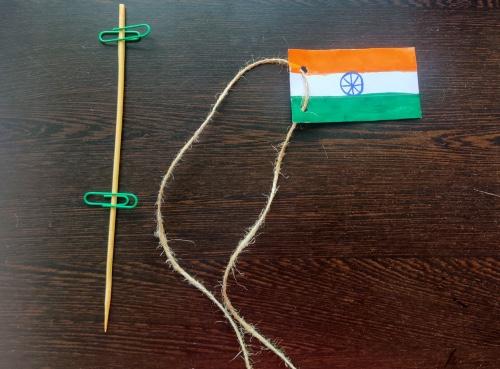 flag hoist craft idea