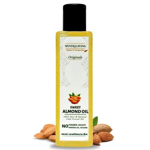 Mystique Living Almond oil for Baby Massage