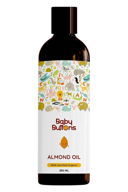 Baby buttons Almond oil for Baby Massage