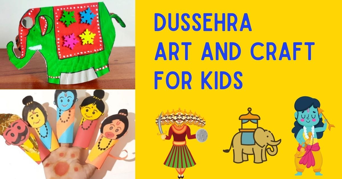 Dussehra Art and Craft for Kids