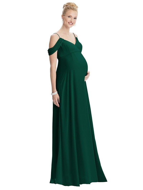 Cold Shoulder Maternity gowns for Photoshoot in India