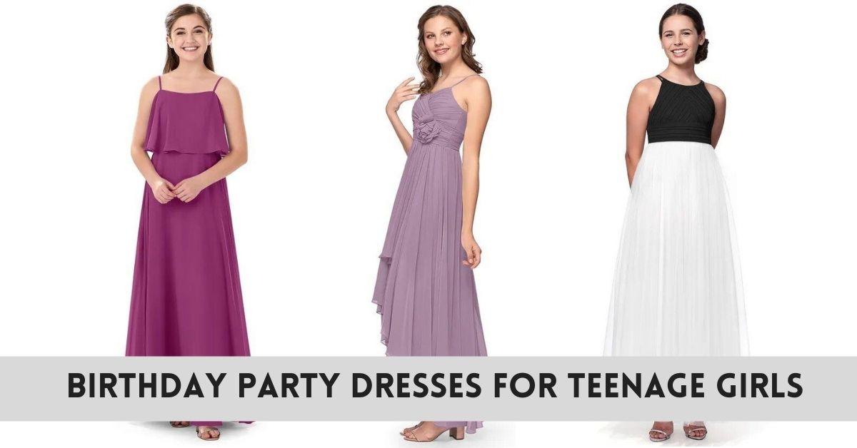 Birthday Dress for Teenage Girls in India